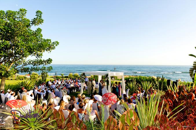 Seaview wedding ceremony in Estepona