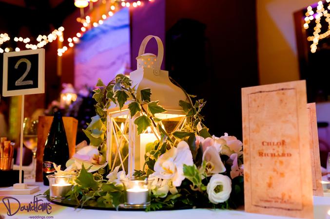 vintage themed wedding tables Estepona