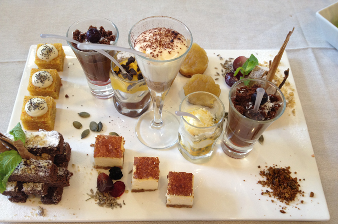 dessert platter wedding food spain