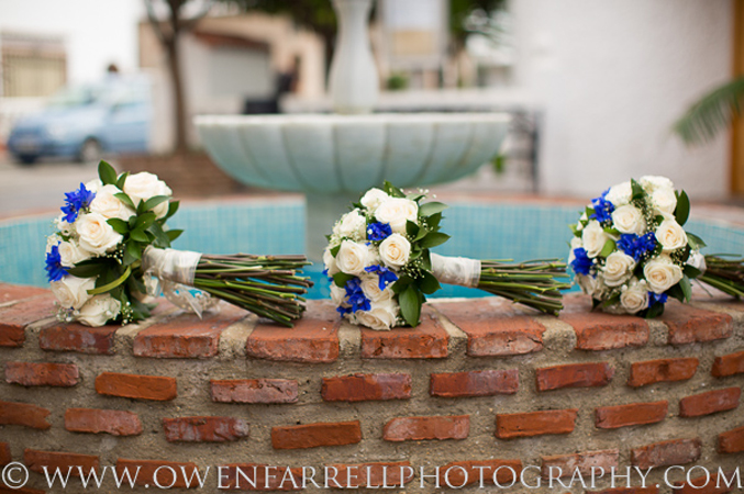 wedding flowers Mijas