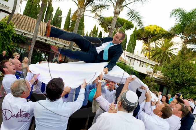 groom jewish wedding celebrations marbella spain
