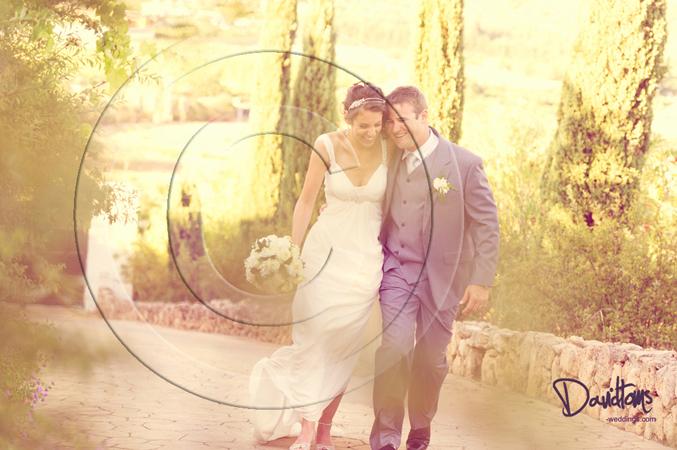 Bride & groom wedding in Mijas Spain