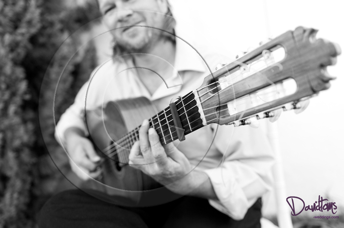 Spanish Flamenco guitarist wedding spain