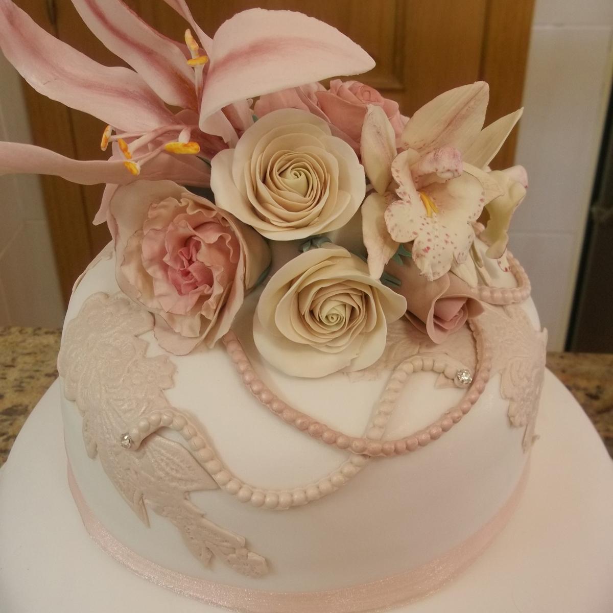 Vintage Wedding cake Spain