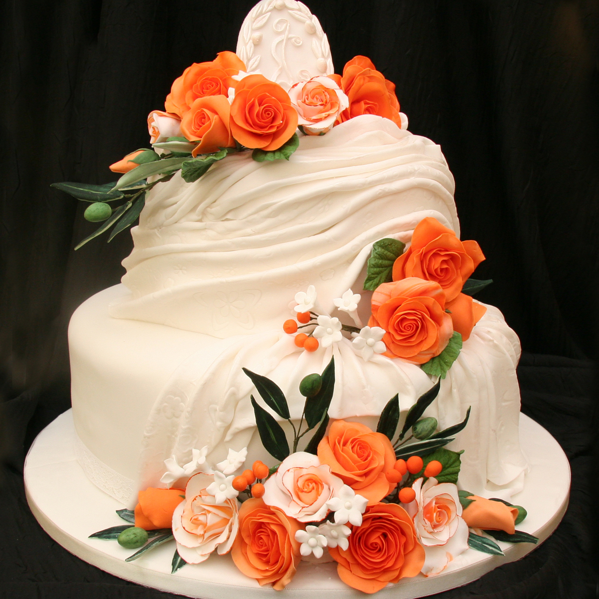 wedding cake theme spain