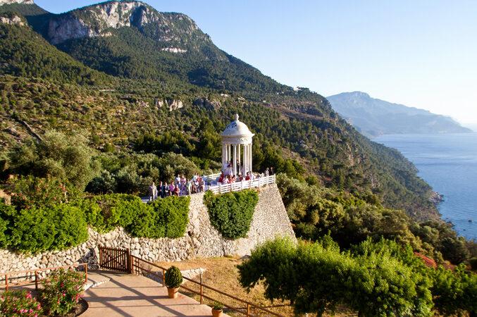 sea view wedding venue in Majorca