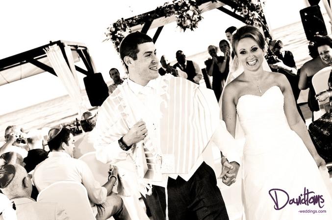 Jewish Bride and Groom Wedding in Spain