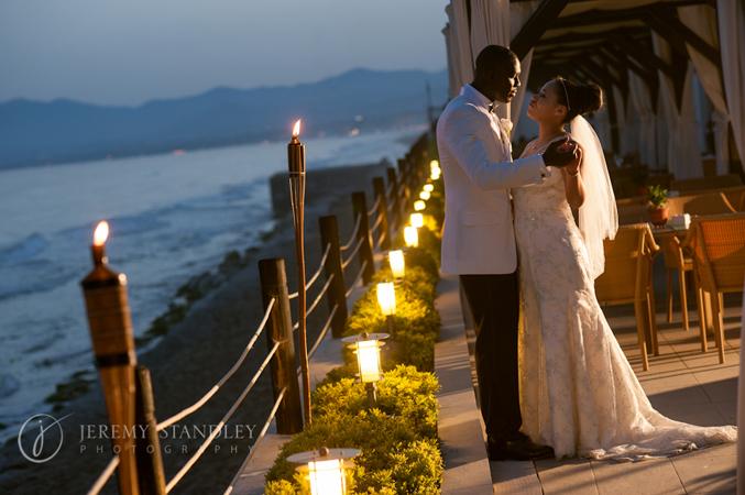 Beach side wedding in Spain