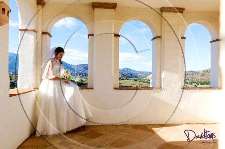 bride photo getting married in Spain