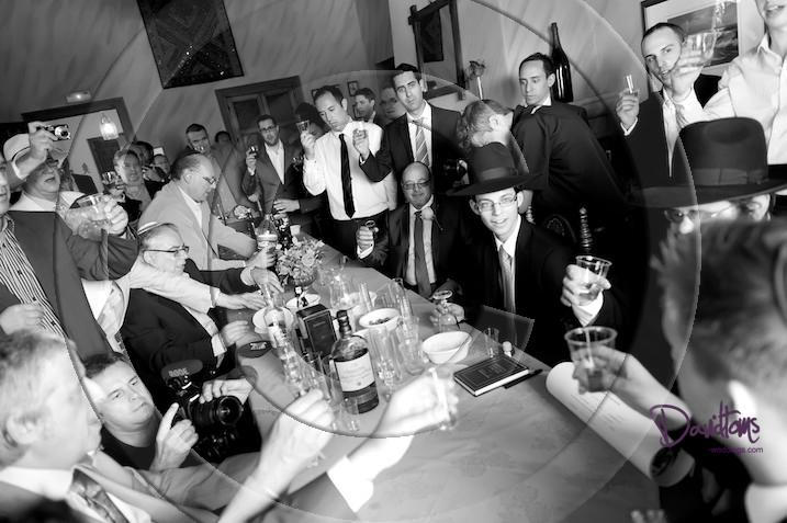 Jewish men at wedding in Spain