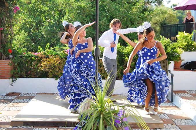 flamenco dancers wedding spain