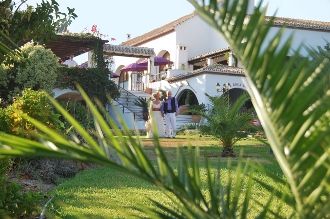 wedding villa venue Nerja spain