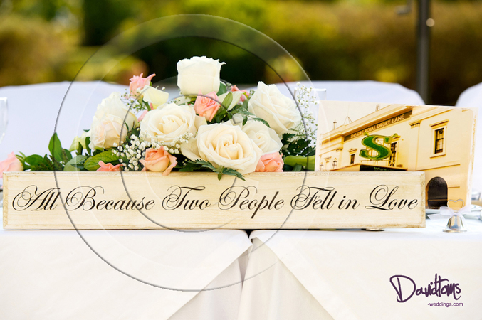 Table decoration at wedding locations in Spain