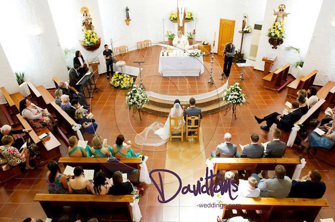 church wedding spain