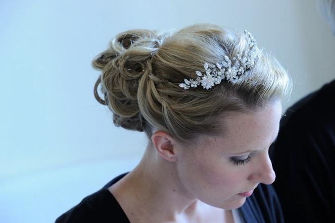 Bridal hair in Spain