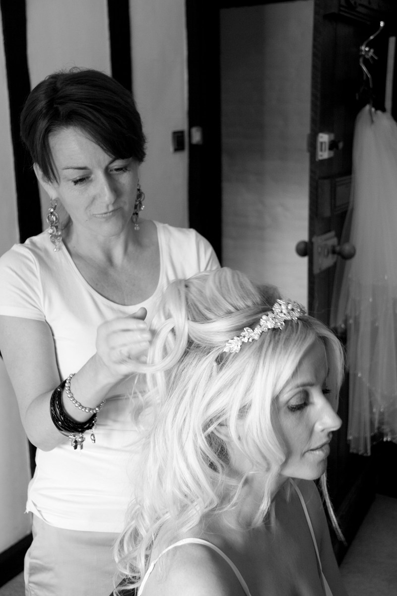 bride hair and make up in Spain