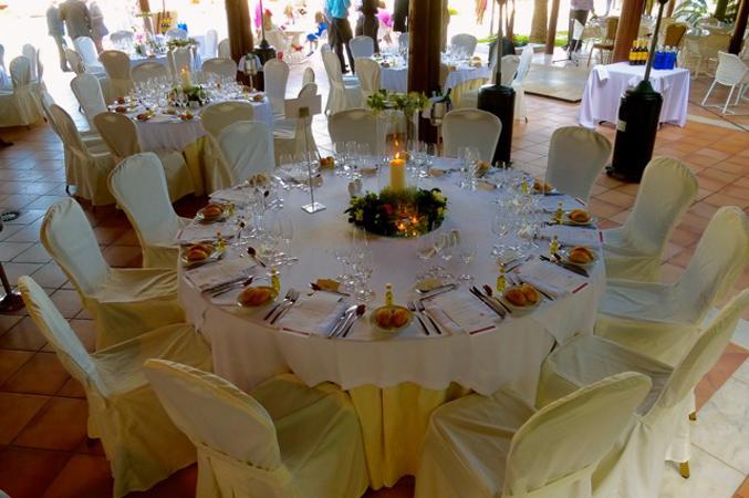 wedding Table decoration in marbella