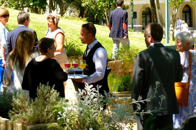 welcome-drinks-bar at wedding in Cadiz Spain