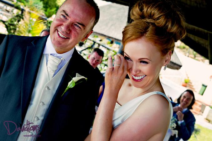 Emotional wedding ceremony Mijas