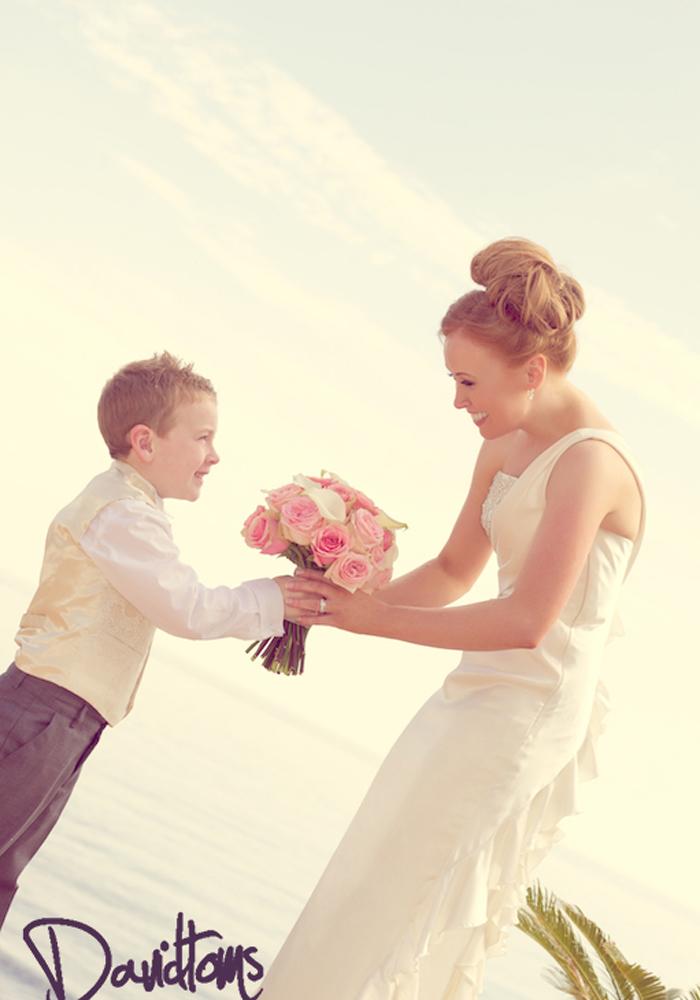 Bride-&-page-boy Mijas Spain