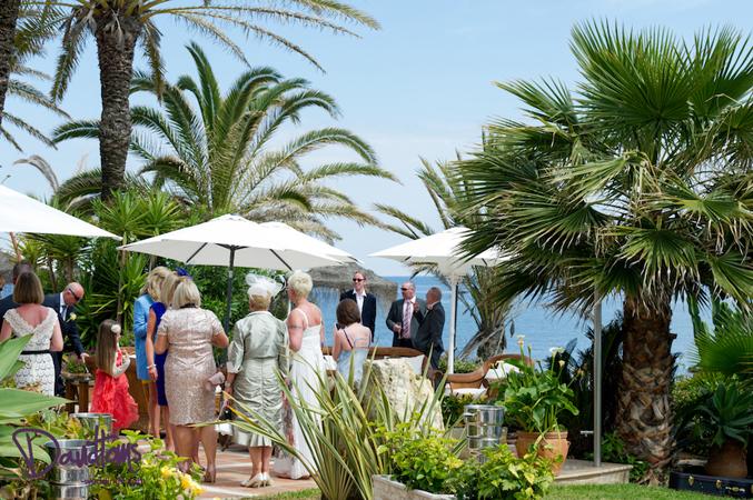 Wedding reception in Mijas Spain