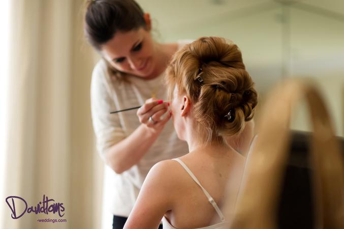 bridal make-up in Spain