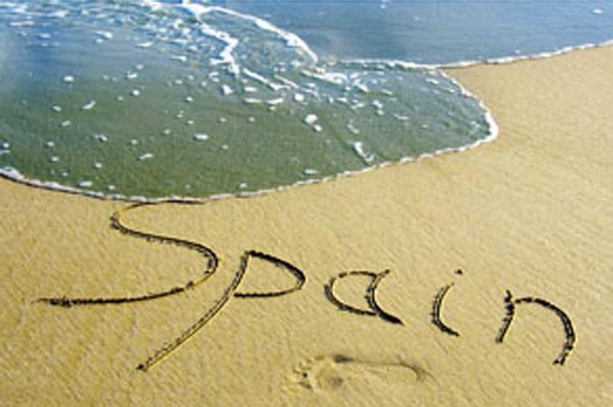 sea, sand, Spain