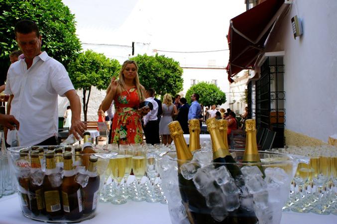 Wedding reception in Marbella Spain
