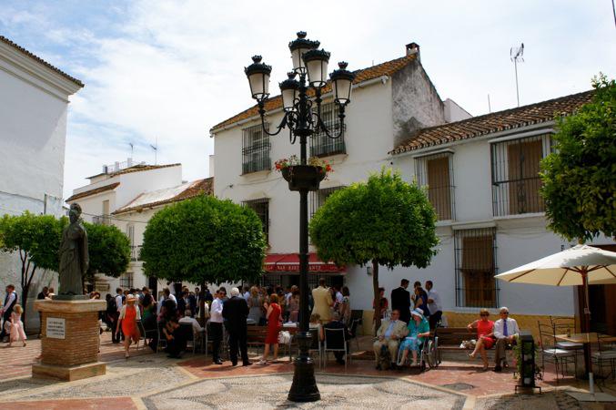 tapas bar in Marbella old town