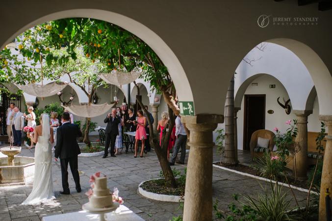 Vintage Wedding venue in spain