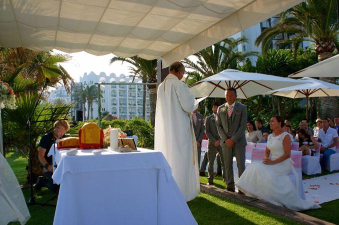 wedding ceremony Nerja