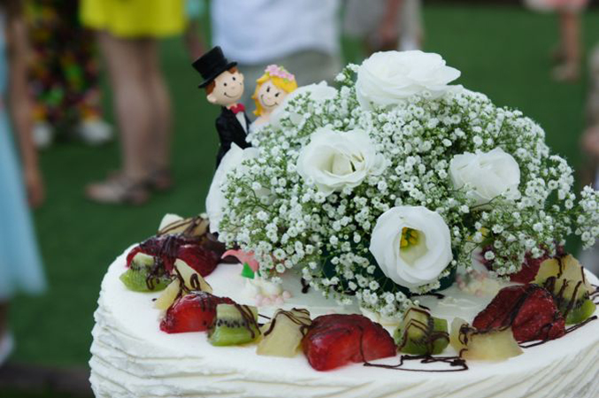wedding cake in Spain