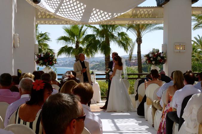 wedding ceremony Estepona