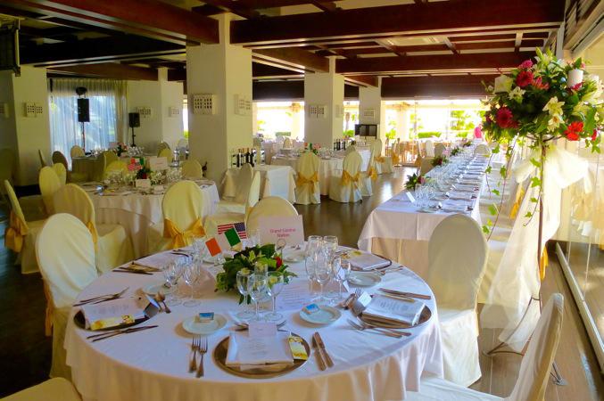 wedding dinner in Estepona