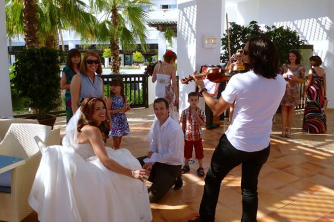 wedding music Spain