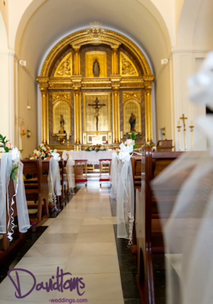 inside Benalmadena Church