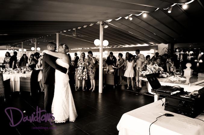 first dance at wedding in Mijas