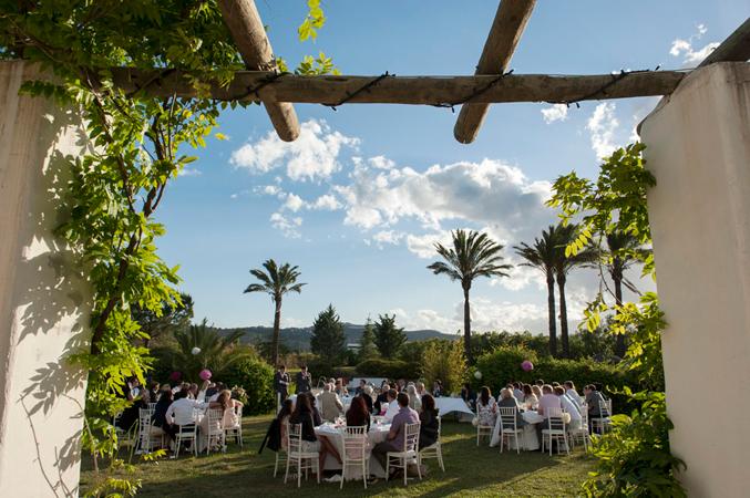 wedding banquet in Spain