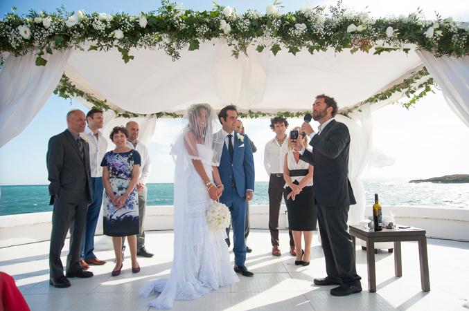Jewish wedding ceremony in Majorca