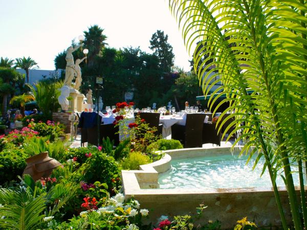 wedding venue garden in Marbella