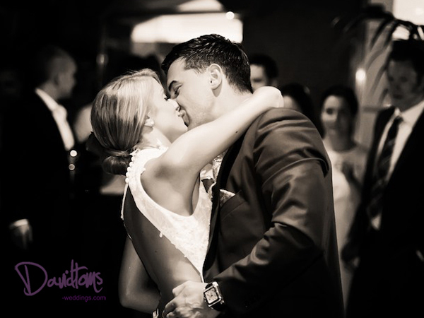 bride and groom first dance in Spain