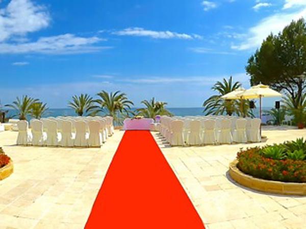 Beach-ceremony in Spain