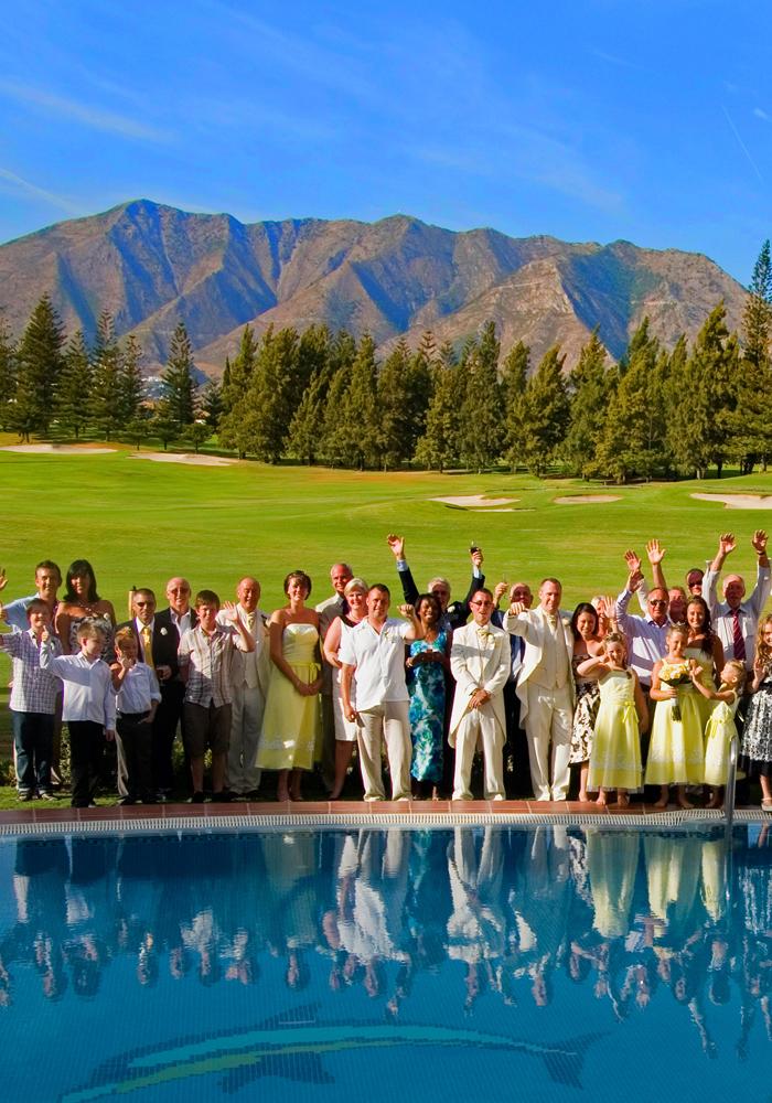 stunning wedding venue in Mijas Spain