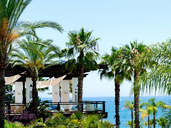 luxury seaview hotel wedding venue in spain