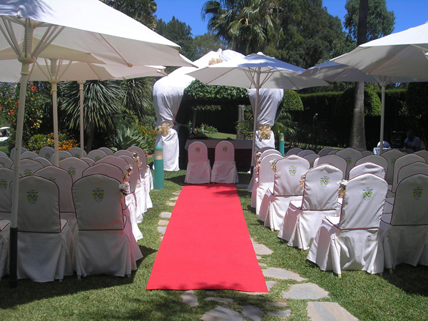 ceremony at wedding in Mijas Spain