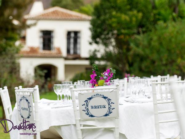 Dinner at wedding in Spain