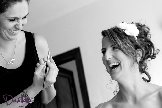 Hair and make up at my wedding in Spain