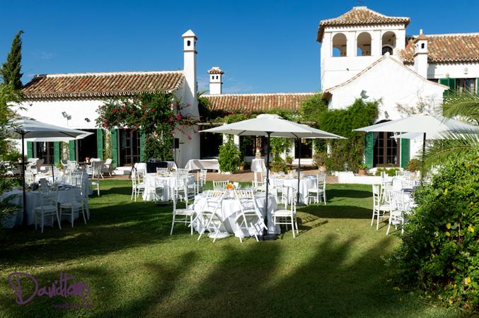 Lisa & Simon's villa wedding venue in Spain