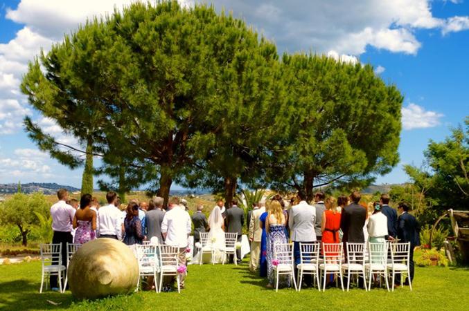 countryside wedding venue in Spain
