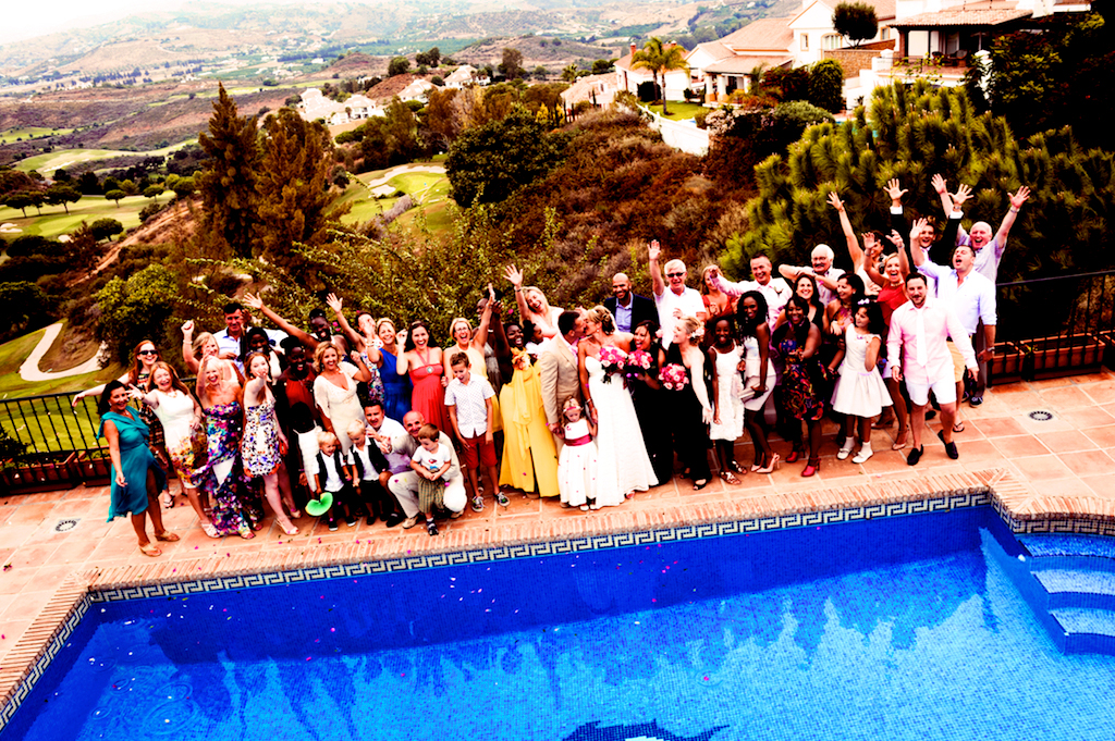 Wedding-party-in-Spain